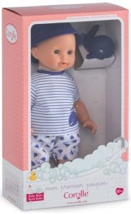 "BLUE WHALE BOY BATH BABY-12"" M"