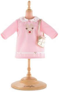 "HAPPY REINDEER DRESS 14"" DOLL"