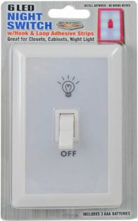 6 LED NIGHT SWITCH