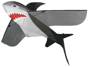 "SHARK 3D 46"" NYLON KITE #866 B"