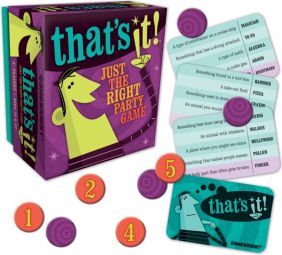 THAT'S IT! PARTY GAME #1104 BY