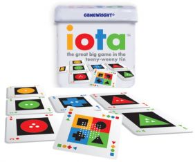 GAMEWRIGHT IOTA GAME (CARDED)