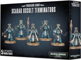THOUSAND SONS SCARAB OCCULT TE
