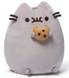 "PUSHEEN WITH COOKIE 9.5"" PLUSH"