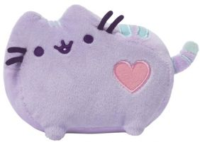 "PUSHEEN PASTEL PURPLE 6"" PLUSH"