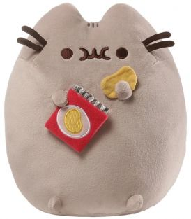 PUSHEEN WITH POTATO CHIPS 9.5""