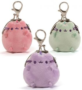 PUSHEEN MINI COIN PURSE-PASTEL