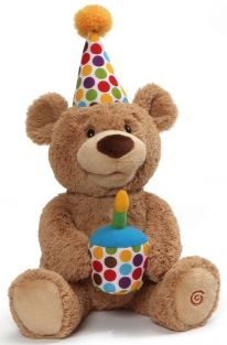 HAPPY BIRTHDAY BEAR ANIMATED P
