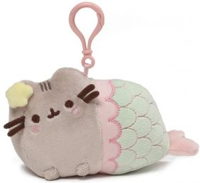 MERMAID PUSHEEN BACKPACK CLIP