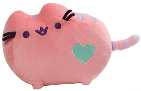"PINK PUSHEEN 12"" PLUSH"