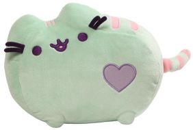 "MINT PUSHEEN 12"" PLUSH"