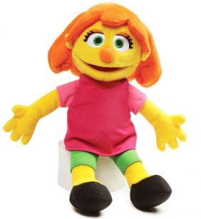 "JULIA 14"" SESAME STREET PLUSH"