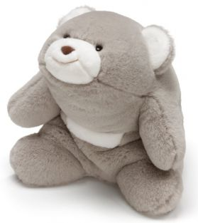 "SNUFFLES GRAY 10"" BEAR"