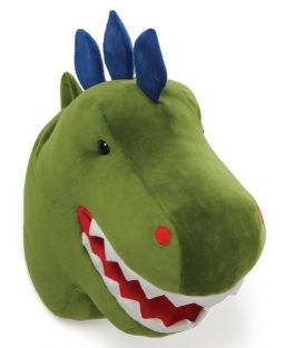CHOMPER DINO WALL DECOR PLUSH