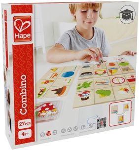 COMBINO WOODEN LEARNING GAME #