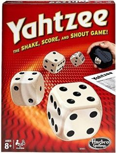YAHTZEE DICE GAME #00950 BY HA