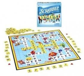 HASBRO SCRABBLE JUNIOR GAME #4039S5