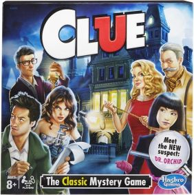 CLUE BOARD GAME #A5826 BY HASB