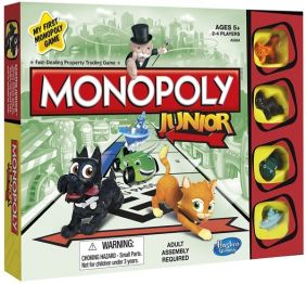 MONOPOLY JR. GAME #A6984 BY HA