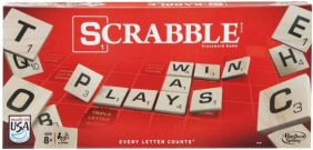 SCRABBLE GAME #A8166 BY HASBRO