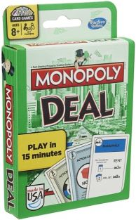 MONOPOLY DEAL CARD GAME #B0965