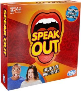 SPEAK OUT GAME #C2018 BY HASBR