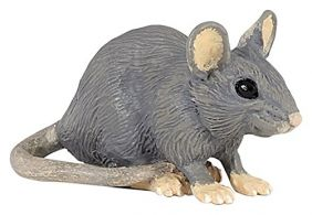 HOUSE MOUSE FIGURE #50205 BY P