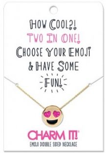 EMOJI DOUBLE SIDED NECKLACE #N