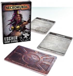(SALE)NECROMUNDA: ESCHER GANG