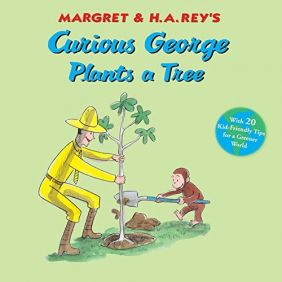 CURIOUS GEORGE PLANTS A TREE B