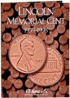 LINCOLN MEMORIAL CENTS 59-98
