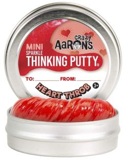 "HEART THROB SPARKLE 2"" THINKING PUTTY"