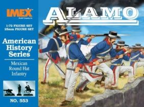 (SALE) 1/72 MEXICAN ROUND HAT INFANTR