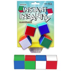 INSTANT INSANITY PUZZLE #1227