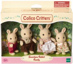 C/C SWEETPEA RABBIT FAMILY