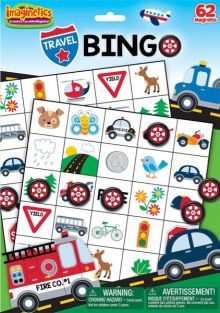 TRAVEL BINGO MAGNETIC PLAY SET