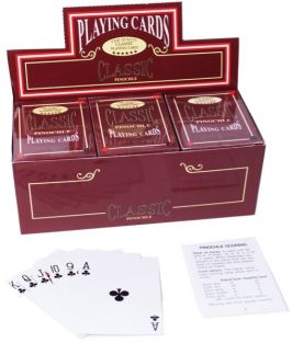 CLASSIC GAME PINOCHLE CARDS