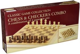 CLASSIC GAME FOLDING CHESS & C