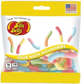 SOUR NEON INCHWORMS