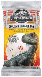 CHOCOLATE DINOSAUR EGG-JURASSI