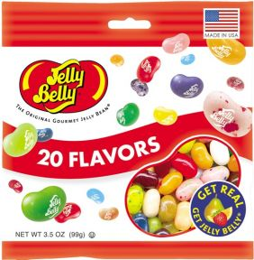20 ASST FLAVORS 3.5OZ JELLY BE