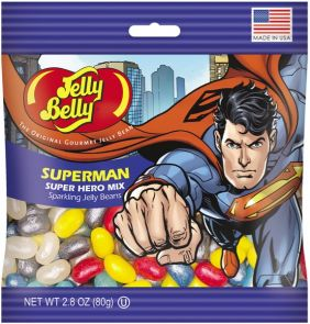 SUPERMAN JELLY BELLY 2.8OZ