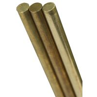SOLID BRASS ROD 1/16X12 3 PACK