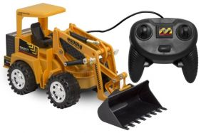 FRONT END LOADER-TETHERED
