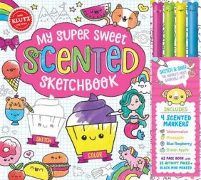 MY SUPER SWEET SCENTED SKETCHB