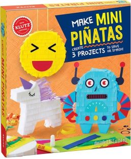 (SALE) MAKE MINI PINATAS CRAFT BOOK #