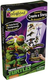 COLORFORMS NINJA TURTLES CREAT