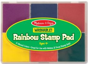 RAINBOW STAMP PAD #1637 BY MELISSA/DOUG