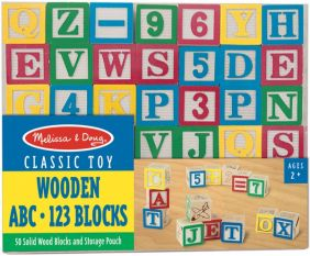 CLASSIC WOODEN ABC-123 BLOCKS