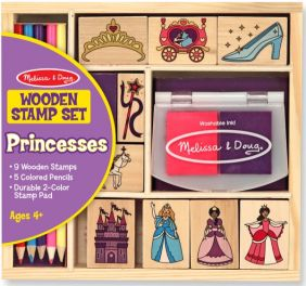 WOODEN PRINCESS STAMP SET #241